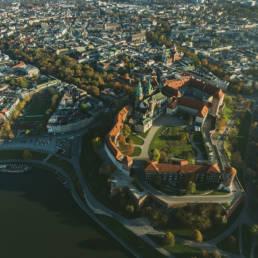 Kraków, Wawel i Stare Miasto jesienią