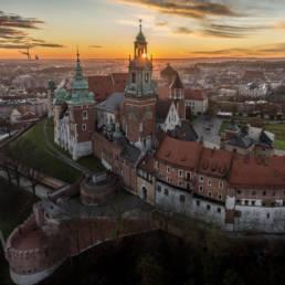 Wawel o świcie
